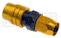 Click for a larger picture of Quick-Disconnect Socket to 6AN Hose End, Buna-N Seal