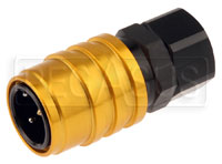 Click for a larger picture of Quick-Disconnect Socket to 10AN Female, EPDM Seal