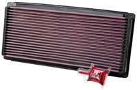 Click for a larger picture of K&N Air Filter, Ford E & F Series 87-97 (Gas)