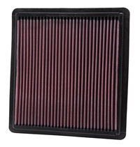 Click for a larger picture of K&N Air Filter, Ford Mustang 4.0L V6 & 4.6L V8 GT, 2005-09