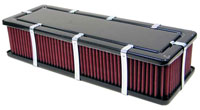 Click for a larger picture of K&N Customizable Rectangular Air Filter Assembly