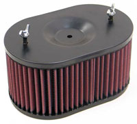 Click for a larger picture of K&N Air Filter, Honda FL250 Odyssey Motorcycle, 77-84