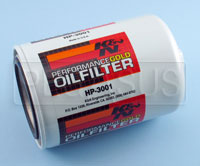 Click for a larger picture of K&N Performance Gold Oil Filter, 3/4-16 Thread