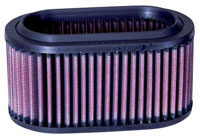 Click for a larger picture of K&N PL-1002 Oval Air Filter Element, Polaris Utes