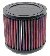 Click for a larger picture of K&N Clamp On Filter, Round, 2.6 Flange, 4.5 OD x 4 H