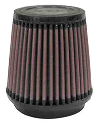 Click for a larger picture of K&N Clamp On Filter, Round Tapered, 3.5 FL, 4.6 D x 4.5H