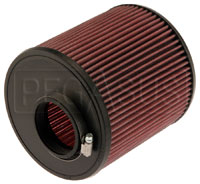 Click for a larger picture of K&N Clamp On Filter, Round, 2.75 FL, 7 Dia x 7 H, 0.7 Offset