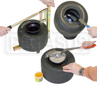 Click for a larger picture of Kart Tire Mounting, Free of Charge Promotion