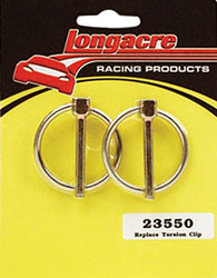 Click for a larger picture of Longacre Replacement Torsion Clips (pkg of 2)