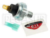 Click for a larger picture of 20 psi Oil Pressure Warning Switch - 1/8 NPT
