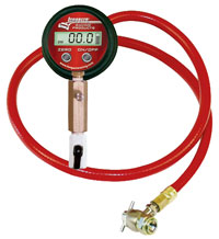 Click for a larger picture of Longacre Digital Shock Pressure Gauge / Inflation Tool
