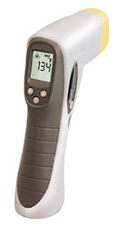 Click for a larger picture of AccuTech Laser Sight IR Pyrometer w/Memory, 1000 F (538 C)