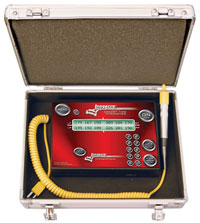 Click for a larger picture of Longacre Digital Memory Pyrometer, 300 C (Metric)