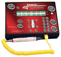 Click for a larger picture of Longacre Combo Pyrometer/Stopwatch, 300 F