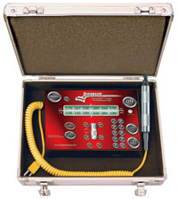 Click for a larger picture of Longacre Combo Pyrometer/Stopwatch, 300 C (Metric)