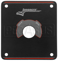 Click for a larger picture of Black Mounting Plate only for Longacre Master Switch