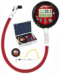 Click for a larger picture of Longacre Temp Compensated Digital Tire Pressure Gauge