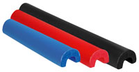 "Click for a larger picture of Longacre HD Lo-Pro Roll Bar Padding, 1.5-1.75"" 3 ft, Black"
