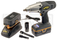 Click for a larger picture of Cordless Impact Gun Kit (yellow)