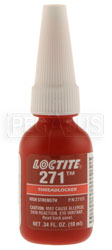 Click for a larger picture of Loctite 271 High Strength (Red) Threadlocker, 10ml