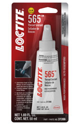Click for a larger picture of Loctite PST 565 High Performance Thread Sealant, 50 ml