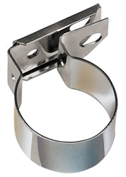 Click for a larger picture of Ford Universal Coil Bracket, Chrome