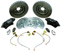 "Click for a larger picture of 2005-2012 Ford Mustang GT 14"" SVT Brake Upgrade Kit"
