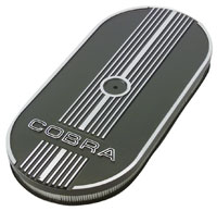 Click for a larger picture of Ford Oval Air Cleaner with Cobra Logo