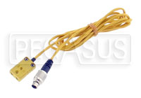 Click for a larger picture of MyChron K-type to 3-Pin 712 (Karting / TC Hub) Patch Cable