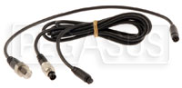 Click for a larger picture of MyChron Rotax Water Temperature Sensor with Patch Cable