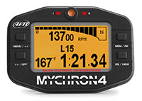 Click for a larger picture of MyChron4 Basic Kart Dash, Amber Screen