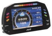 "Click for a larger picture of AiM MXS Small 5"" TFT Display Dash Logger"