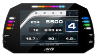 "Click for a larger picture of AiM MXG Large 7"" TFT Display Dash Logger"