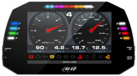 Click for a larger picture of AiM MXG 1.2 Strada Dash Display with CAN Harness