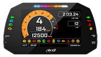 Click for a larger picture of AiM MXG 1.2 Strada Street Icons Dash Display, CAN Harness