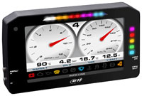"""Click for a larger picture of AiM MXP Strada Medium 6"""" TFT Dash with CAN Harness"""