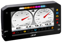 """Click for a larger picture of AiM MXP Strada 6"""" TFT Dash Street Icons, OBD-II (CAN+K) Plug"""