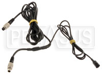 Click for a larger picture of AiM 7-Pin SmartyCam to 5-Pin CAN Cable with In-Line Mic, 4M