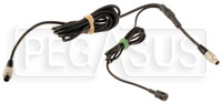 Click for a larger picture of AiM 7-Pin SmartyCam to 5-Pin CAN Cable with In-Line Mic, 2M