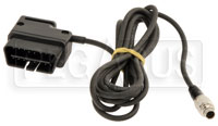 Click for a larger picture of AiM 7-Pin to OBD-II Connector (CAN/K-Line) Cable for SoloDL