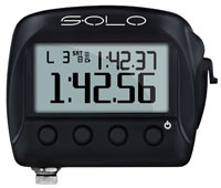 Click for a larger picture of AiM Solo On-Board Lap Timer, Stand-Alone Version