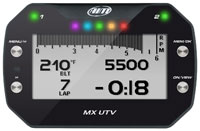 Click for a larger picture of Clearance AiM MX UTV Dash Logger