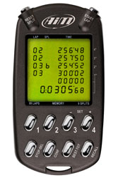 Click for a larger picture of AiM MultiChron Handheld Stopwatch