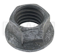 Click for a larger picture of Metric Jetnut, All Metal Locknut