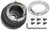Click for a larger picture of MOMO Steering Wheel Hub Adapter, BMW E30, Late E28, E24