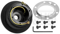 Click for a larger picture of MOMO Steering Wheel Hub Adapter, BMW E31, E32, E34, E36