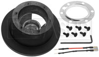 Click for a larger picture of MOMO Steering Wheel Hub Adapter, BMW E90