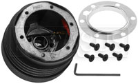 Click for a larger picture of MOMO Steering Wheel Hub Adapter, Corvette / Viper / Neon