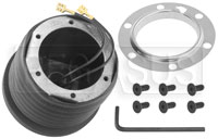 Click for a larger picture of MOMO Steering Wheel Hub Adapter, Ford 68-72
