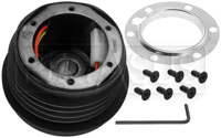 Click for a larger picture of MOMO Steering Wheel Hub Adapter, 1984-2002 Mustang